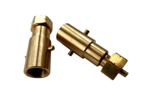 Filling adapter gas cylinders Bayonet long version