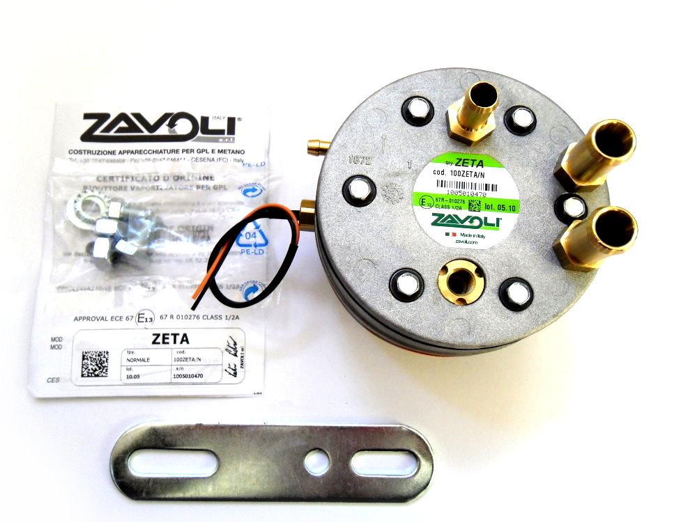 Zavoli Zeta S Verdampfer bis 230 KW LPG Autogas GPL incl Temperatur Sensor