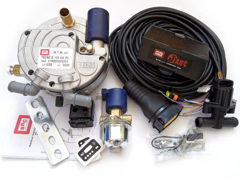 BRC JUST Kit - Fahrzeugteile Vogler LPG Autogas Shop