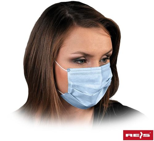 Disposable mask face mask 3-ply